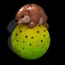 Hamster - Meerschwein auf Ball 500809871334